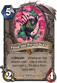 Murloc Deck Shaman Or Warlock by Finja The Flying Star Minion Card Hearthstone Database