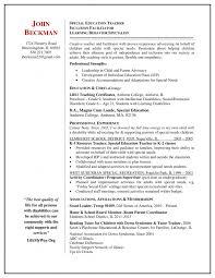 Teacher Resume Examples 2013