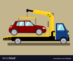 100 Tow Truck Vector Truck Takes Away Car Cartoon Royalty Free Image