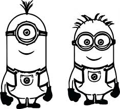 Printable Minion Halloween Coloring Pages Despicable Me Free Birthday