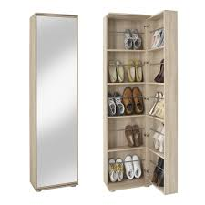 Tall Slim Cabinet Uk by Argos Tall Pine Shoe Cabinet With Mirror Door Storage Ideas