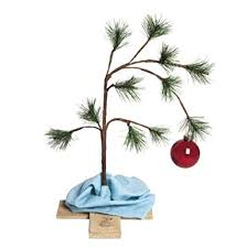 ProductWorks 24quot The Original Charlie Brown Artificial Christmas Tree