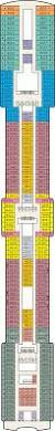 Ruby Princess Baja Deck Plan by Coral Princess Cruise Ship Deck Plan Radnor Decoration