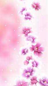 Cute Pink Smartphone Wallpaper