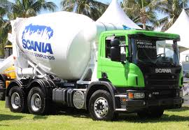 Scania To Showcase Its First Concrete Mixer Trucks For Mexican ...
