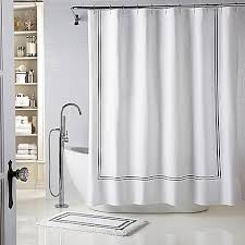 Bed Bath And Beyond Curtains Draperies by Wamsutta Baratta Stitch Shower Curtain Bed Bath U0026 Beyond