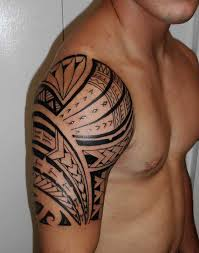 Stylish Tribal Shoulder Tattoos In 2017 Real Photo Pictures