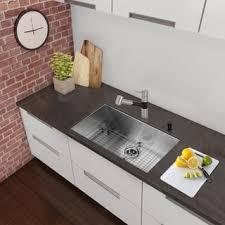 Overstock Stainless Kitchen Sinks by Black Finish Stainless Steel Sinks For Less Overstock Com