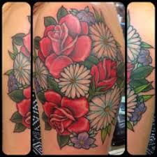 Photo Of Blue Flame Tattoo