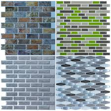 Smart Tiles Peel And Stick by Peel U0026 Stick Smart Mosaic Sample