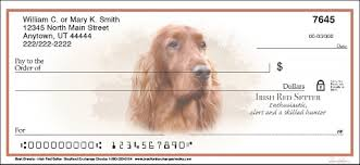 Irish Setter Designer Checks