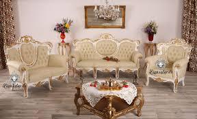 sofagarnitur weiß gold lionsstar gmbh