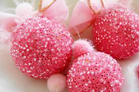 Gumdrop Christmas Tree Decorations by Pink Christmas Ornaments Pink Christmas Decoration Rose Colored