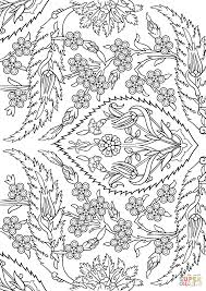 Click The Turkish Tiles Coloring Pages
