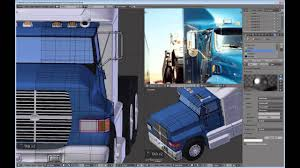100 Semi Truck Mirrors How To Model A Semitruck In Blender Part 18 YouTube