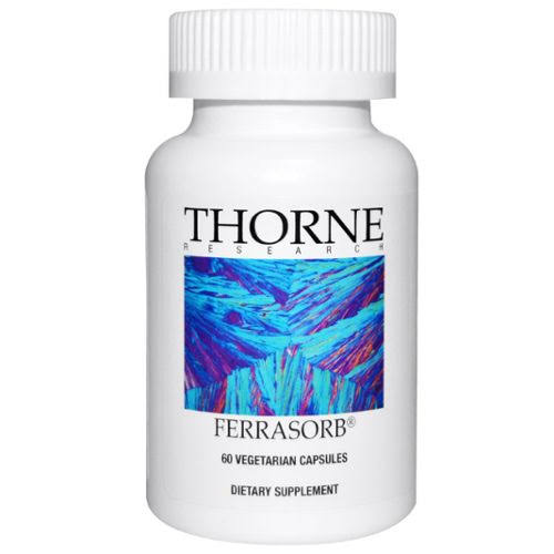 Thorne Research Ferrasorb Supplement - 60 Caps