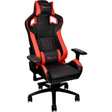 Thermaltake Tt ESports GT Fit F100 Gaming Chair (Red & Black)