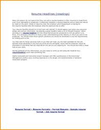 Headline For A Resume 5 Example Examples Templates The Best Fresher Electronics And Communication Engineer