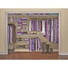 organize closet we these white wire racks bedroom
