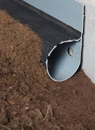 waterproofing contractors drain drain tile weeping