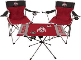 Rawlings Ohio State Buckeyes 3-Piece Tailgate Kit | Products ... Hardwood Rocking Chair Ohio State Jumbo Slat Black Ncaa University Game Room Combo 3 Piece Pub Table Set The Best Made In Amish Chairs For Rawlings Buckeyes 3piece Tailgate Kit Products Smarter Faster Revolution Axios Shower Curtain 1 Each Michigan Spartans Trademark Global Logo 30 Padded Bar Stool
