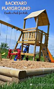 DIY Backyard Playground: How To Create A Park For Kids | Backyard ... Best Backyard Playground Sets Small Swing For Sale Lawrahetcom Playset Equipment Australia Houston Fun Fortress Playhouse Plan Castle Playhouse Wooden Castle And Plans Playsets Plans For Free Design Ideas Of House Outdoor 6station Heavy Duty Cedar 8 Kids Playsets Parks Playhouses The Home Depot Simple Diy Set All Tim Skyfort Ii Discovery Clubhouse Play Clubhouses Plays Tutorials