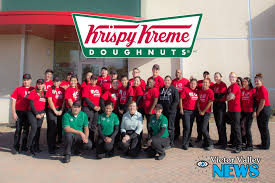 Krispy Kreme Opens December 20th With Giveaways - Victor Valley News ... Huge Rat Runs Off With Krispy Kreme Doughnut Across Car Park As Nike Teams Up With Krispy Kreme For Special Edition Kyrie 2 From The Ohio River To Twin City North Carolina Nike And Make For An Unlikely Sneaker Collaboration Greenlight Colctibles Hitch Tow Series 4 Set Nypd Doughnuts Plastic Delivery Truck Van Coffee Tea Cocoa Close Blacksportsonline Amazoncom 164 Hd Trucks 2013 Intertional Full Print Freightliner Sprinter Wrap Car