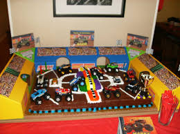 Monster Jam Birthday Cake Ideas, Monster Truck Party Supplies ... Chic On A Shoestring Decorating Monster Jam Birthday Party Nestling Truck Reveal Around My Family Table Birthdayexpresscom Monster Jam Party Favors Pinterest Real Parties Modern Hostess Favor Tags Boy Ideas At In Box Home Decor Truck Decorations Cre8tive Designs Inc Its Fun 4 Me 5th