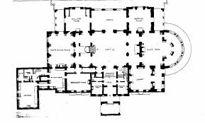 Highclere Castle First Floor Plan by The Breakers Main Floor Plan Gilded Era Mansion Floor Plans