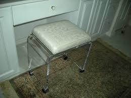 Vanity Benches For Bathroom by Acrylic Bathroom Items Acrylics Of Naples Acrylic Furniture