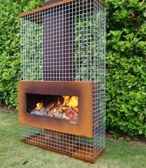Available Outdoor Fireplace Collections