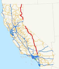 100 Truck Route Map US 395 In California Wikipedia