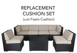 Complete Replacement Cushion Covers With FOAM Red Barrel Studio Dierdre Outdoor Wicker Swivel Club Patio Chair Cosco Malmo 4piece Brown Resin Cversation Set With Crosley Fniture St Augustine 3 Piece Seating Hampton Bay Amusing Chairs Cushions Pcs Pe Rattan Cushion Table Garden Steel Outdoor Seat Cushions For Your Riviera 4 Piece Matt4 Jaetees Spring Haven Allweather Amazoncom Festnight Ding Of 2