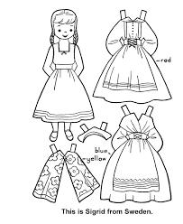 Children Of The World Paper Dolls