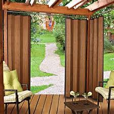 bamboo patio curtains outdoor