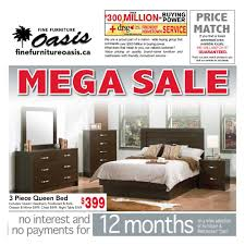 Fine Furniture Oasis Flyer May 1