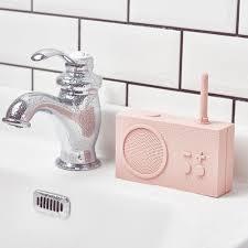 tykho 3 fm radio bluetooth lautsprecher pink