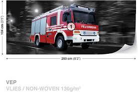 100 Fire Truck Wallpaper Wall Mural Photo Room Dcor 2022WS
