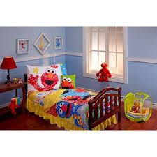 sesame street scribbles 10 piece toddler bedding set walmart com