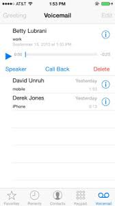 Basics of iPhone Voicemail dummies