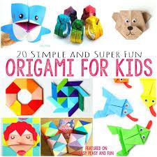 Easy Paper Folding Crafts For Children Origami Kids Arthur Leigh Allen