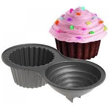 3D Giant Cupcake Non Stick Cake Tin Pan