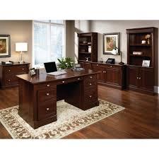 Sauder Palladia Computer Desk Multiple Finishes by Desks Designer Executive Desk Executive Office Furniture