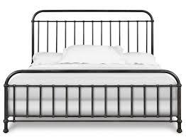 California King Platform Bed With Headboard by Black Metal California King Panel Bed Frame Decofurnish