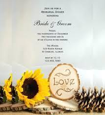 Idea Rustic Sunflower Wedding Invitations For Woodland Invitation Template 24