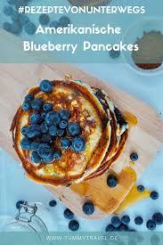 blueberry pancakes rezept