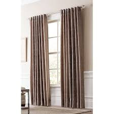 Light Filtering Privacy Curtains by Shop Allen Roth Volney 84 In Taupe Polyester Back Tab Light