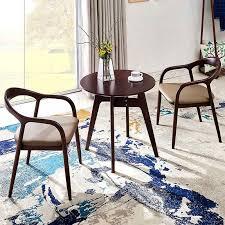 designer stuhl kreative nordic holz einfache hiroshima kennedy präsident stuhl neue chinesische leder esszimmer stuhl