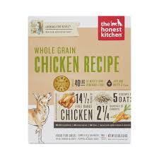The Honest Kitchen Whole Grain Chicken Recipe Dog Food Thrive Market