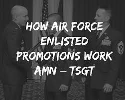 Us Air Force Awards And Decorations Afi by How Air Force Enlisted Promotions Work Amn U2013 Tsgt Forever Wingman
